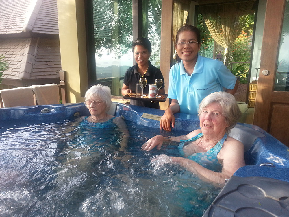 gwalia 85th bithday celebration at ridgeway spa