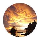 About Circle - sunset 1